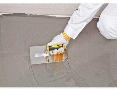 Саморазливни подове и Замазки