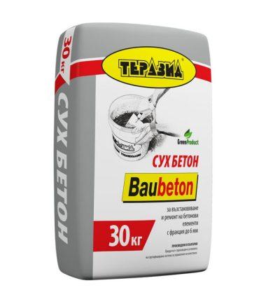 СУХ БЕТОН BAUBETON 30 КГ.