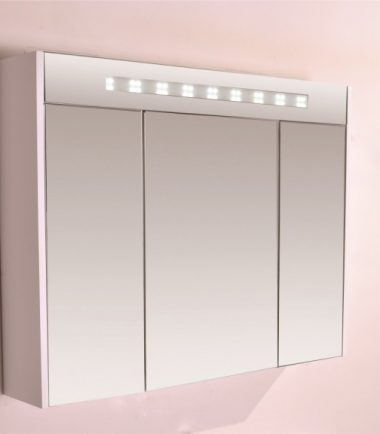ОГЛЕДАЛЕН PVC ШКАФ ЗА БАНЯ ICMC 904650 UP LED