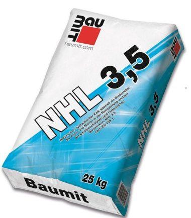 ЕСТЕСТВЕНА ХИДРАВЛИЧНА ВАР БАУМИТ NHL 3,5 25 КГ.